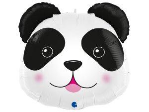 """19"""" fóliový balónek - hlava pandy"""