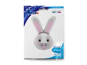 """37"""" foliový balónek - hlava zajíce - G72004-P-Packaged.jpg"""