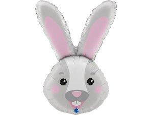 """37"""" foliový balónek - hlava zajíce"""