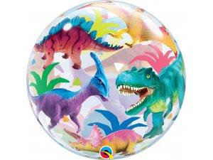 """22"""" bublina - Barevní dinosauři"""