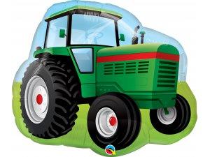 """34"""" fóliový balónek - Traktor z farmy"""