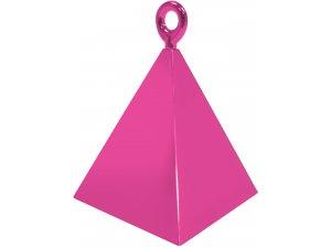 Závaží na balónky pyramida magenta N