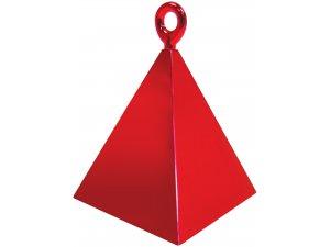Závaží na balónky pyramida červená N