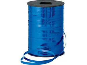 Stuha metalická 5mm x 250m modrá