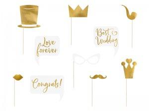 Sada pro fotokoutek - Zlatá svatba
