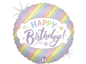 """18"""" Pastel-Birthday"""