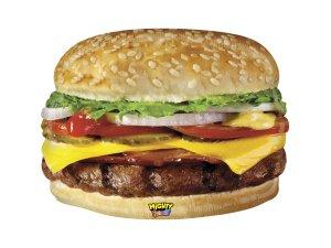 "31"" Cheeseburger - Fóliový balónek (79 cm)"