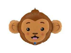"36"" fóliový balónek - hlava opice"