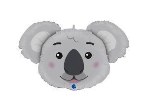 """37"""" fóliový balónek - hlava koaly"""