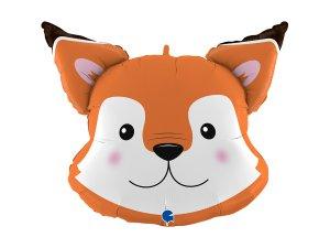 "30"" fóliový balónek - hlava lišky"