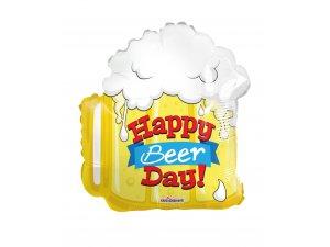 Balónek 46cm - Pivo - Happy Beer Day!