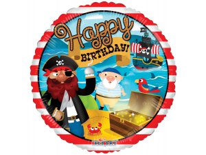 Kruh 46cm - Pirátské narozeniny