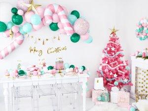 """Girlanda papírová - Zlatý nápis """"Merry Christmas"""" lesklý 83cm - big_GRL90-019M_04_S.jpg"""