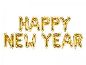 "Balónky fóliové set ""Happy New Year"""