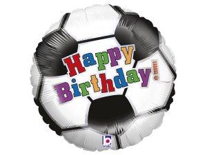 "18"" Fotbalové narozeniny - Foliový balónek"
