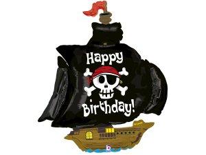 """46"""" Pirátská loď - Fóliový balónek"""