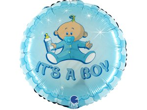 "18"" Je to kluk! miminko - Fóliový balónek"