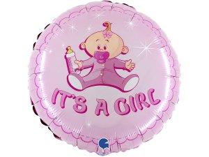 """18"""" Je to holka! miminko - Fóliový balónek"""