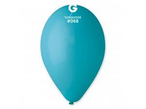 """Balónek 26cm/10"""" #068 tyrkysový"""