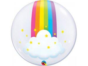 "24""  DECO bublina - Duha a mrak"