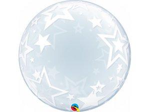 """24"""" DECO bublina - Hvězdy"""