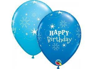 """11"""" latexový balónek - HB modré 25ks"""