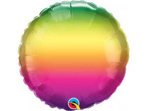 "18"" fóliový balónek kruh - Tm. přeliv 46cm"