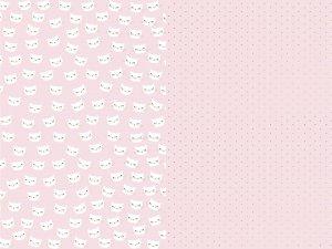 Balící papír kočka, mix, 70x200 cm, 2ks