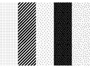Balící papír, mix, 68.5x100cm, 1 ks