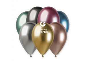 """Balónek 33cm/13"""" #080 barevný mix lesklý"""