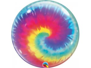 """22"""" bublina - Batikovaný vír"""