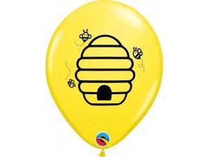 """11"""" balónek - Bee Happy 25ks - 17587b.jpg"""