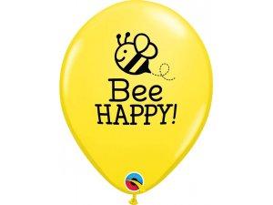 "11"" balónek - Bee Happy 25ks"