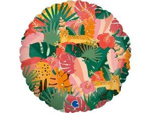 """18""""/46cm kruh - Tropická džungle"""