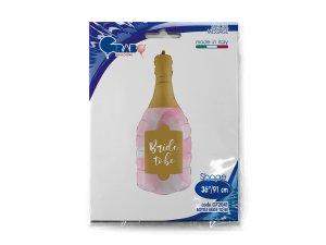 """36""""/91cm Šampaňské s nápisem Bride To Be - G72041-P-Packaged.jpg"""