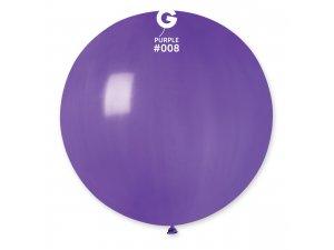 """Balónek 80cm/31"""" #008 fialový"""