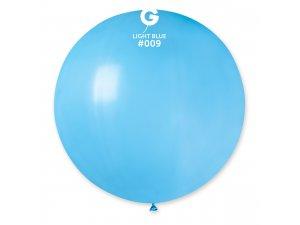 """Balónek 80cm/31"""" #009 světle modrý"""