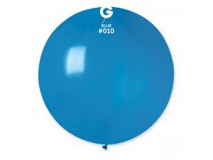 """Balónek 80cm/31"""" #010 modrý"""