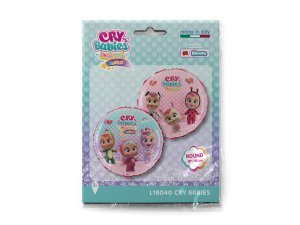 "Fóliový balónek kruh - Cry Babies 46cm/18"" - L18040-P.jpg"