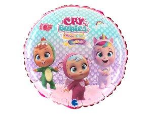 "Fóliový balónek kruh - Cry Babies 46cm/18"""