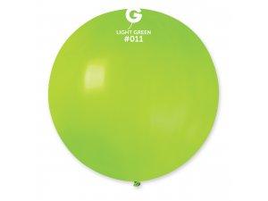 "Balónek 80cm/31"" #011 světle zelený"