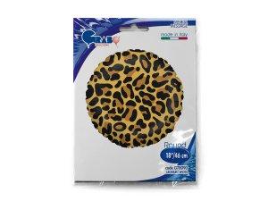 """18""""/46cm kruh - motiv leopard - G78090-Packaged.jpg"""