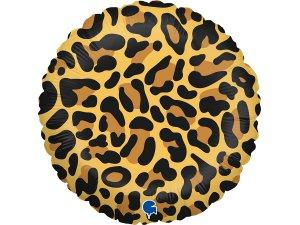 "18""/46cm kruh - motiv leopard"