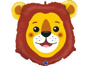 """29""""/74cm fóliový balónek - hlava lva"""