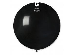 """Balónek 80cm/31"""" #014 černý"""