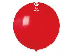 """Balónek 80cm/31"""" #045 červený"""
