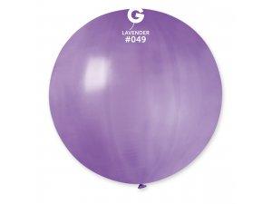 """Balónek 80cm/31"""" #049 levandulový"""