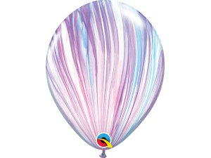 "11"" Balónek Qualatex mramor fialovo-modrý 1ks"