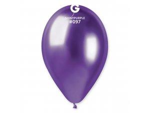"""Balónek 33cm/13"""" #097 SHINY fialový"""