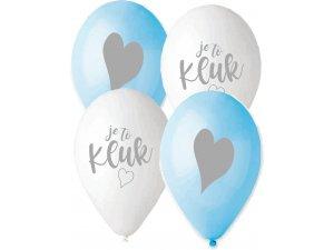 Balónek pastel 30 cm JE TO KLUK potisk (100ks/bal)
